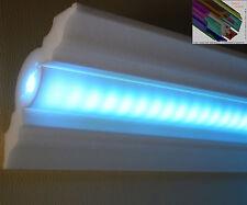 """Stuckleiste Stuckprofil Zierprofil LED Beleuchtung 20 Meter+4 Innenecken """"Niels"""""""