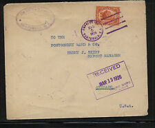 Guatemala large cover to Us 1916 Mm0603