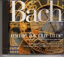 (CR658) Classic FM - Bach - Music For Our Time - 2000 DJ CD