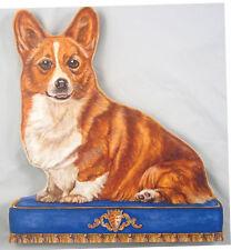 New Corgi Dog Puppy Pet Decor Wood Doorstop