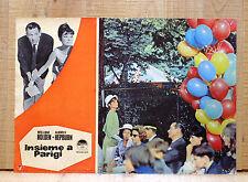 INSIEME A PARIGI fotobusta poster Paris When It Sizzles Audrey Hepburn CA20