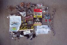 Hardware Razor Blades Screen door parts Ge Gas stove parts etc Vtg New Mixed Lot
