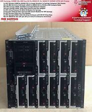 HPE Synergy 12000 10x 480 Gen10 2x 40GB VC 2x 16GB FC D3940 12TB SAS Frame