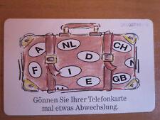 selteneTelefonkarte, europäisches Kartentelefon, 12 DM