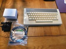 ACORN ELECTRON HOME COMPUTER - WORKING WITH LEADS AND POWER PACK