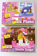 NEW MY BLOX Studio Stage & Piano Building Block Kits Lego Compatible
