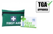 MINI FIRST AID KIT 43pcs Emergency First Aid Kit Medical Travel Hiking Pocket AU