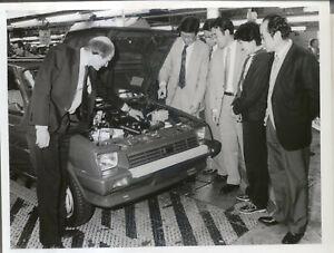Austin Rover Metro Factory Press Photo 10237/2 at Longbridge