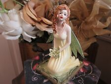 "LISA STEINKE ""BASIL"" FAIRY Figurine by Munro makers of Faerie Glen BNIB"