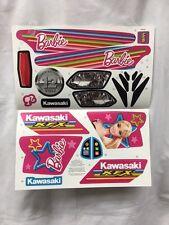 Power Wheels W4715 Fisher Price Barbie KFX Label Decal Sheet Genuine