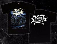 KING DIAMOND -Voodoo- Danish heavy metal musician,T_shirt- sizes: S to 6XL
