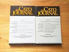 The Cato Journal Complete Volume 15, nos 1-3, 1995-96 James Burnham, Boudreaux