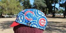 CYCLING CAP MLB CHICAGO CUBS 100% COTTON HANDMADE