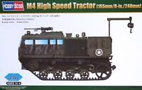 Hobbyboss 1:72 M4 (155mm/8-in./240mm) High Speed Tractor Vehicle Model Kit