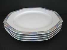 "CHRISTOPHER STUART SOUTHWEST SET of 4 DINNER PLATES 10 3/8"" Y0002 1992-2004 EUC"