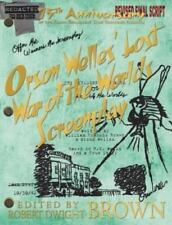 Orson Welles' Lost War of the Worlds Screenplay (Paperback or Softback)
