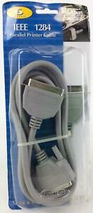 Belkin Computer Accessory IEEE 1284 Parallel Printer 6' Cable New