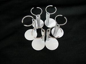 Heidi Ott Dollhouse Miniature  Metal Doll Stands 6 pcs  x1.5'' #3