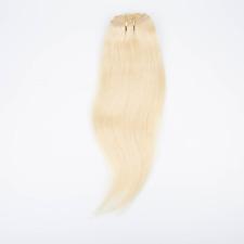 8A Glueless 3/4 Half Wig 100% Indian Human Hair Half Wig Straight Hair Weft Cap