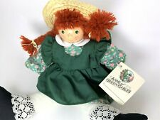 Vintage Anne of Green Gables Wood Block Doll, Anne Shirley - Avonlea Traditions