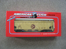 S Scale American Flyer #6-48611 Cargill 3-Bay Covered Hopper Car
