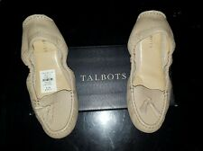 Talbots women shoes bailarinas flats size 8.5M, new with box, never wear