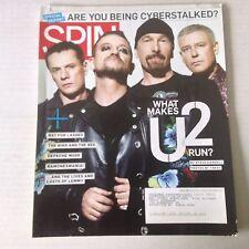 Spin Magazine U2 Bat For  Lashes Depeche Mode April 2009 051917nonrh