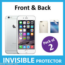 iPhone 6 Full INVISIBLE Screen Protector Shield FRONT & BACK (4.7 '') - ( x2 )