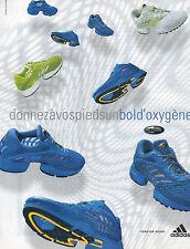Publicité 2003  ADIDAS basket sport chaussure collection mode pret à porter ...