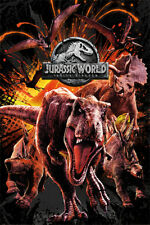 JURASSIC WORLD FALLEN KINGDOM DINOSAURS  91.5 X 61CM MAXI POSTER NEW OFFICIAL