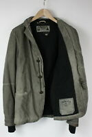 DIESEL Men's X LARGE Aged Effect Nylon Blend Shell Blazer Type Jacket 29025-JS
