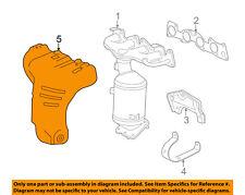 Chevrolet GM OEM 13-15 Spark 1.2L-L4 Manifold-Exhaust-Heat Shield 25186216