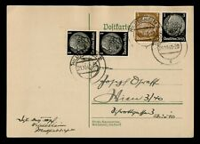 DR WHO 1940 GERMANY HILDESHEIM POSTAL CARD PAIRS C186792