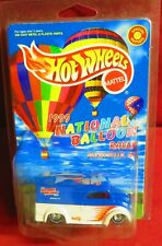1999 NATIONAL BALLOON RALLY, 1/64 HOT WHEELS DAIRY DELIVERY   MINT IN PACK!