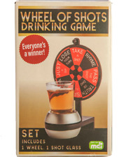 Wheel of Shots Novelty Drinking Game Adults Party Spin Point Drink