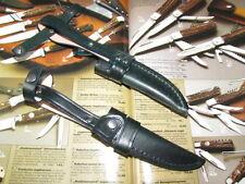 STILETTMESSERSCHEIDE für 11 cm Nicker Messer Solingen. Msch mit Gürtelschlaufe.