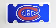 Montreal Canadiens Hockey Front Licence Plate Logo Novelty 254g 12in x 6in I927