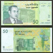 Morocco 50 Dirham 2002 P69 UNC