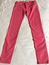 Abercrombie & Fitch Ladies Pink Skinny Jeans Trousers - 00 - Zero