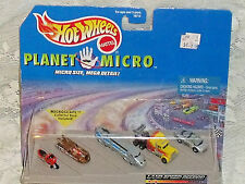 Hot Wheels Planet Micro Land Speed Record Series NEW in Package Vtg 1997