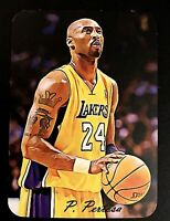 Kobe Bryant 2020 Limited Edition ACEO Sample Pertosa Die Cut Art Card #KB1