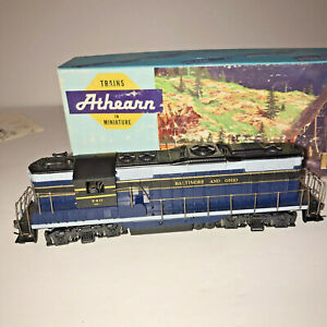 Vtg Athearn Train Miniature 3152 Toy GP-9 Diesel Road Switcher PWR B & O Orig Bx