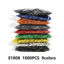 New Listing1000e1008 Wire Crimp Connector Insulated Ferrule Cord Pin End Terminals Awg 18