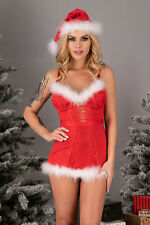 LIVCO CORSETTI Agathe Luxury Super Soft Chemise, Hat and Matching G-String Set