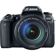 Cámara SLR Canon EOS 77D Digital + Lente 18-135 mm IS USM