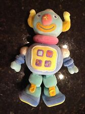 EARLY STAR Early Years Interactive Robot Learn and Grow-Bot Soft Baby Plush Toy