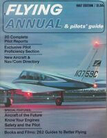 1967 ANNUAL  FLYING vintage airplane aviation Magazine , Pilot reports /m9