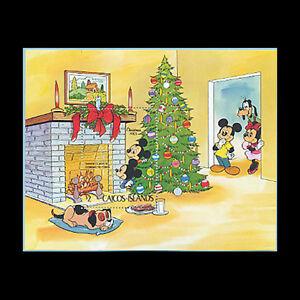 Caicos, Sc #31, MNH, 1983, S/S, Disney, Christmas, GDD-A