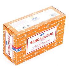 Satya SANDALWOOD BIG PACK 12x 15g Räucherstäbchen Agarbathi oriental