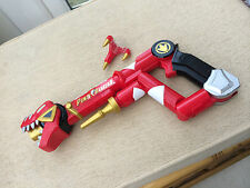 Power-Rangers Dino Thunder Tyranno Staff Red Weapon Gun Bandai 2003 COSPLAY